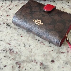 Coach Bags - Coach purse with matching wallet.
